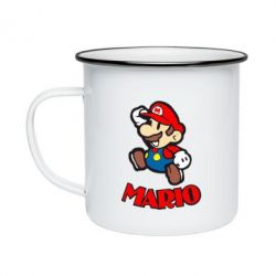 Кружка эмалированная Супер Марио - FatLine