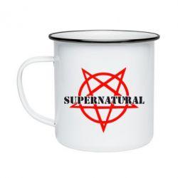 Кружка эмалированная Supernatural