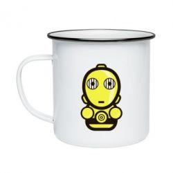 Кружка емальована Sweet C-3PO