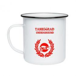 Кружка емальована Tankograd Underground