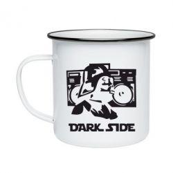 Кружка эмалированная Темная сторона Star Wars