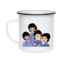 Кружка эмалированная The Beatles - FatLine