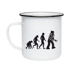 Кружка эмалированная The Bing Bang theory Evolution - FatLine