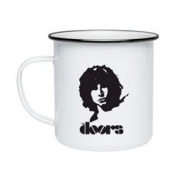 Кружка эмалированная The Doors