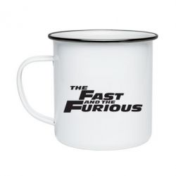 Кружка емальована The Fast and the Furious