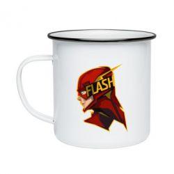 Кружка емальована The Flash