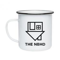 Кружка эмалированная THE NBHD Logo