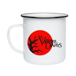 Кружка эмалированная The Vampire Diaries