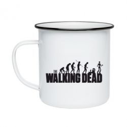 Кружка эмалированная The Walking Dead Evolution - FatLine