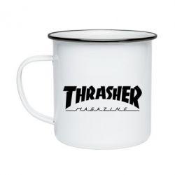 Кружка емальована Thrasher Magazine
