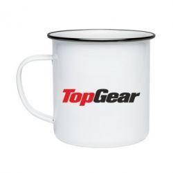 Кружка емальована Top Gear