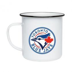 Кружка емальована Toronto Blue Jays