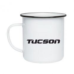 Кружка эмалированная Tucson