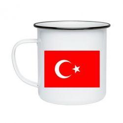 Кружка эмалированная Турция