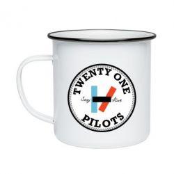 Кружка емальована Twenty One Pilots Stay Alive