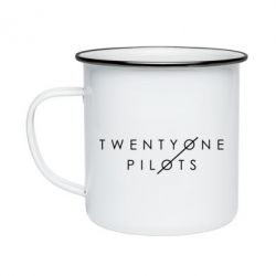 Кружка эмалированная Twenty One Pilots - FatLine