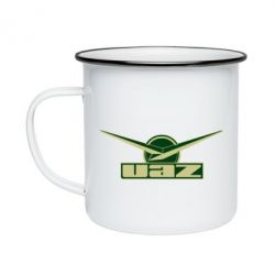 Кружка емальована UAZ Лого