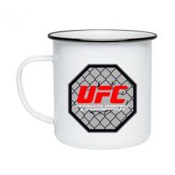 Кружка эмалированная UFC Cage