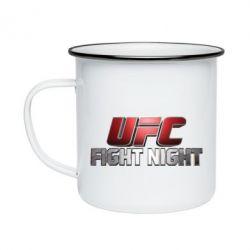 Кружка емальована UFC Fight Night
