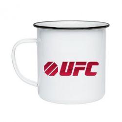 Кружка эмалированная UFC Main Logo