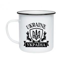 Кружка эмалированная Україна ненька