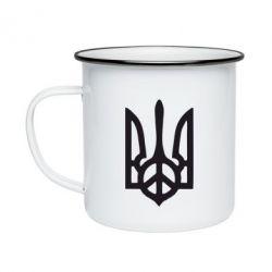 Кружка эмалированная Ukraine Peace