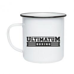 Кружка эмалированная Ultimatum Boxing