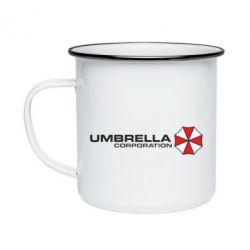 Кружка емальована Umbrella Corp - FatLine