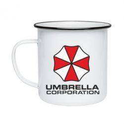 Кружка эмалированная Umbrella