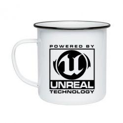 Кружка эмалированная Unreal