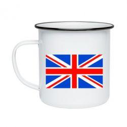 Кружка эмалированная Великобритания