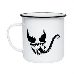 Кружка эмалированная Venom Silhouette - FatLine