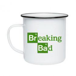 Кружка эмалированная Во все тяжкие (Breaking Bad)