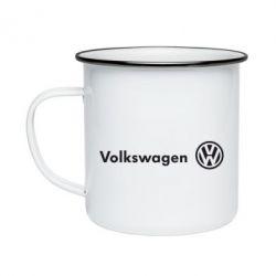 Кружка эмалированная Volkswagen Motors