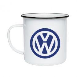 Кружка эмалированная Volkswagen - FatLine