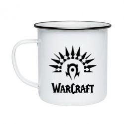 Кружка эмалированная WarCraft Logo