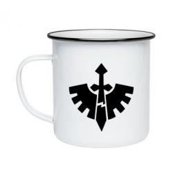 Кружка эмалированная Warhammer 40k Dark Angels