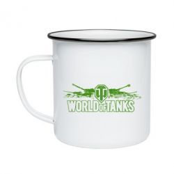 Кружка эмалированная World of Tanks