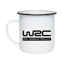 Кружка эмалированная WRC