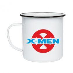 Кружка емальована X-men