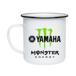 Кружка емальована Yamaha Monster Energy