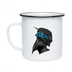 Кружка эмалированная Zoom