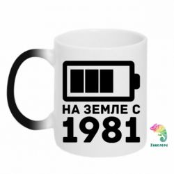 Кружка-хамелеон 1981 - FatLine