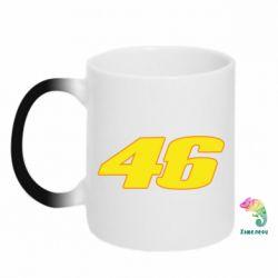 Кружка-хамелеон 46 Valentino Rossi - FatLine