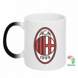 Кружка-хамелеон AC Milan - FatLine
