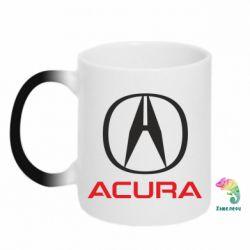 Кружка-хамелеон Acura - FatLine