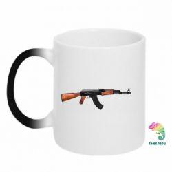Кружка-хамелеон АК-47 - FatLine