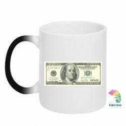 Кружка-хамелеон Американский Доллар - FatLine