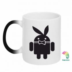 Кружка-хамелеон Android Playboy