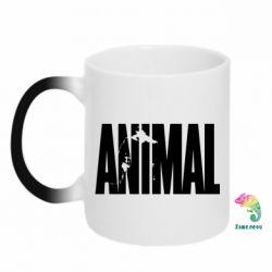 Кружка-хамелеон Animal Gym - FatLine